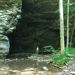 Natural Bridge, Carter Caves Resort Park.