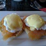 AU$21 Salmon Eggs Benedict