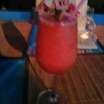 Strawberry daiquiri. This is one of the only restaurants that doesn't skimp when making cocktail
