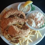 Fish and Chips and Cole Slaw