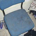 Stuhl im Zimmer