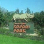 Entrance to the Safari Park