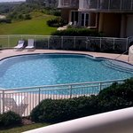 Relaxing pool - view from our balcony