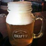20oz fresh brewed beer