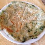 Pan Fried Scallion Pancake 蔥油餅