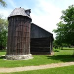 wooden barn & silo