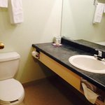 Bathroom, Super 8 Dauphin  |  1457 Main St S, Dauphin, Manitoba R7N3B3, Canada
