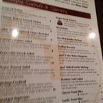 Menu options, Silver Heights Restaurant and Lounge  |  2169 Portage Ave, Winnipeg, Manitoba r3j0