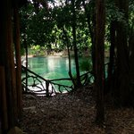 Cenote near the lobby