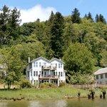 Skamokawa Resort from Columbia River