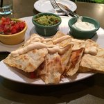 Dipping Quesadillas