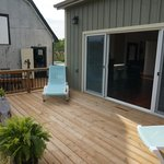 Private Deck for the Garden Room