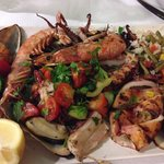 Mouth watering PERFECTLY cooked mixed seafood grill