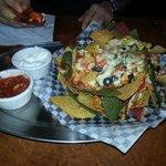 Half order of nachos....