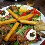 Assiette variée
