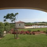 view fom my villa on arrival