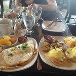 Eggs Benedict and Rancheros Huevos