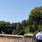 Ponte de pedra, ponte de ferro e teto do palacio
