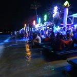 beachfront party