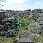 Ruins near Buda Castle