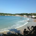 L'Horizon in the middle of St. Brelade Bay