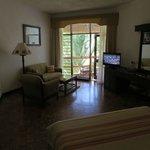 Unser Zimmer im Travellers Club Hotel