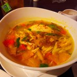 Soto Ayam (Chicken clear soup with rice)