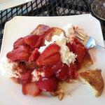 Strawberry Shortcake with Lemon glaze