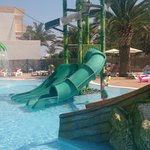 Splash park...