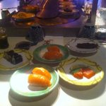 Tapis roulant de sushis