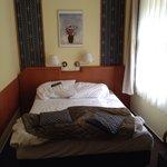 Chambre petite mais propre et confortable