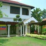 Information centre at Taman Bunga Raya