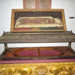 Picture of St Francis Xavier's body