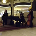 Jazz gig at the lobby
