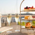 Afternoon Tea on The Waterfront Terrace
