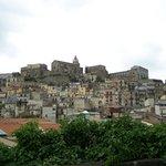 Uitzicht op Castiglione di Sicilia