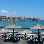 Пляж и вид на Старо място