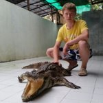 Close to our Crocodiles