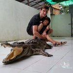Little scared but got some close experience with the Crocodile