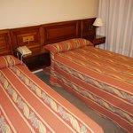 В стандартном номере две кровати