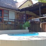 The Manor House at he Kuname River Lodge, with our own private pool