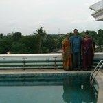5th floor pool, Arcadia Regency Hotel Alleppey Kerala/Alappuzha