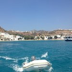 Beautiful Pollonia from the water.