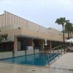Gym and pool