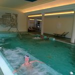 La piscina termale attrezzata