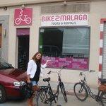 Dainy van Bike2Malaga