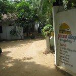 Entrance to Panama Village Resort