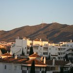 View towards the hills behind Benalmadena