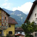 View in the town of Inzell