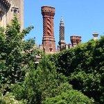 the wonderful tudor chimneys